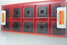 10x SANDVIK 880-0805w10h-p-lm 4324 Turn Plates Turn Cut Plates
