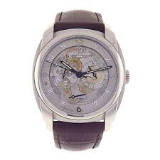 Vacheron Constantin Quai de l'Ile Day Date Palladium Skeleton Men's Watch 85050