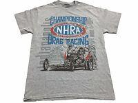 NHRA National Hot Rod Association Muscle Car Drag Racing Men's T Shirt
