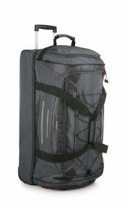 Antler Headingley Mega Decker Duffle Bag Grey/Orange Travel Luggage