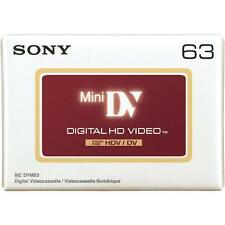 1 x Sony High Definition Mini DV HDV63 Tapes - BRAND NEW