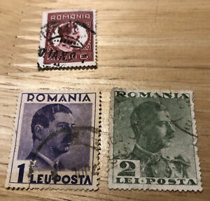 Romania Stamps. 1930-35
