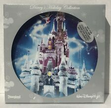 Disney Parks Magic Kingdom Castle Tinkerbell Christmas Decorative Plate NEW