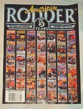 American Rodder Magazine October 1992  5th Anniversary Issue