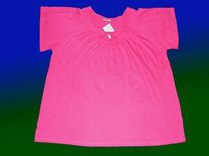 Blusenshirt T.-Shirt Damenshirt Tunika Longshirt Bluse  Gr. 46 Baumwolle  NEU