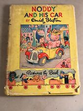 First Edition Noddy And His Car w DJ Hardback Book Noddy