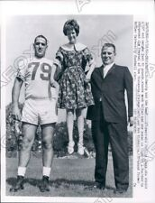 1962 Minnesota Vikings Football Jim Prestel & Butler Star Eichholtz Press Photo