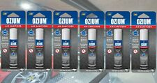 ⭐OZIUM Air Sanitizer Air Cleaner Freshener New Car Odor Eliminator 0.8 oz 6-PACK