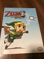 The Legend of Zelda Phantom Hourglass Premiere Edition Official Game Guide
