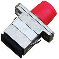10PCS Metal FC to SC /PC SM/MM Simplex Fiber Optic Adapter Connector FC-SC