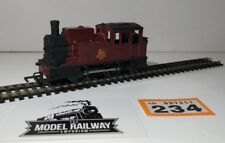 HORNBY TRIANG 00 GAUGE - REPAINTED BR MAROON SMALL SADDLE TANK - RUNNER #234