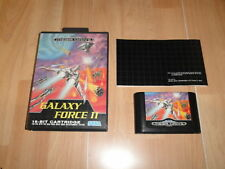 GALAXY FORCE II 16 - BIT CARTRIDGE PARA LA SEGA MEGA DRIVE USADO COMPLETO
