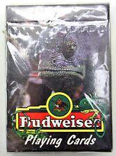 New 1998 Budweiser Swamp Lizard Playing Cards