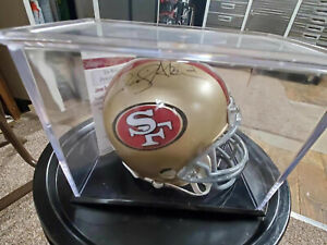 David Akers Signed San Francisco 49ers Mini Helmet JSA