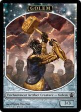 4X 3/3 Artifact Golem TOKEN (10/11) -LP- Theros MTG Magic Hammer of Purphoros