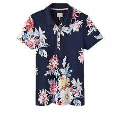 Joules Pippa Ladies Embroidered Equine Classic Buttoned Horse Riding Polo Shirt