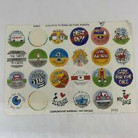 Roads & Traffic Authority (RTA) Sticker Lot - Vintage Australiana (22 Stickers)
