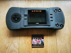 Atari Lynx 1 - Voll funktionsfähig mit einem Spiel
