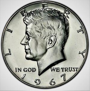 "1967 P Kennedy Half Dollar US Average Circulation/"" 1"