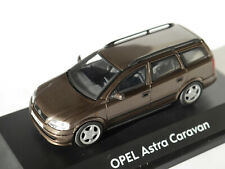 Opel Astra G Caravan Kombi break in braun brown metallic, Schuco in 1:43 DEALER