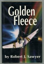 Golden Fleece by Robert J. Sawyer First Edition- High Grade