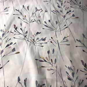 2.7m JOHN LEWIS NERINE Multi Cotton/Linen Floral Curtain Cushion Crafting Fabric