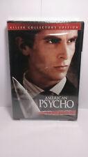 American Psycho Uncut Version Killer Collectors Edition Dvd Christian Bale