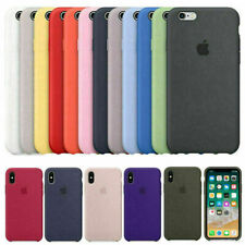 Original Coque Etui Silicone Pour Apple iPhone X XR XS 11 Pro MAX 8 7 6S 6+