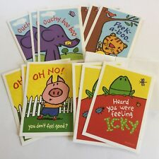 DaySpirit Lot Of 12 Cards With  Scripture & Envelopes, Child Get Well