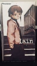 Lain Sealed VHS tape English Dubbed Version 1998 Pioneer