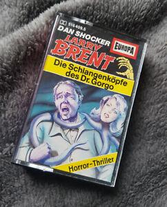 Larry Brent 9 - Die Schlangenköpfe des Dr. Gorgo - Uncut Alte Auflage Europa Gel