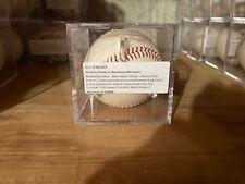 Matt Adams Groundout Lucchesi Nationals Padres Game Used Baseball