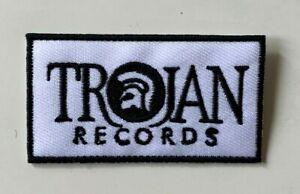 TROJAN RECORDS / TROJAN SKINHEAD REGGAE - Patch  Iron on Sew On Badge-Jacket