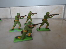 figurines Britains deetail WW2 lot de 4 soldats Américain American marines
