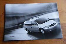 Chrysler Voyager brochure Dec 2003 for MY04