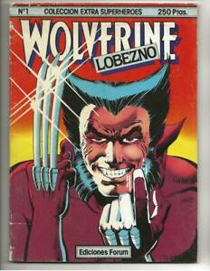Coleccion Extra Superheroes Lobezno #1  1982  Spanish Wolverine Limited Series!