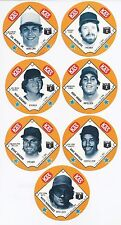 1985 85 KAS Fernando Valenzuela Potato Chips Snack Time Disc Los Angeles Dodgers