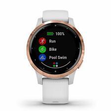 Garmin Vivoactive 4S Blanco Y Oro Rosado GPS Smartwatch 010-02172-21