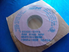 1 Nopor toolroom grinding wheel dia 14''x1.5'& #039;wide 5''hole 25A60-Gvp2 Pink Wheel