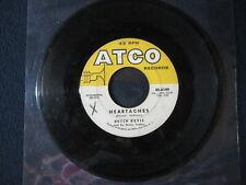 Hutch Davie - Sweet Georgia Brown/Heartaches [45 RPM Vinyl]