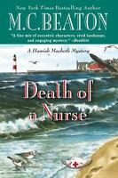 Death of a Nurse by M.C. Beaton (English) Hardcover Book Free Shipping!