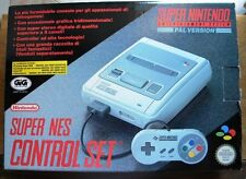 Console Super Nintendo SNES Singapore Edition Snsp-s-cd(a)-asi PAL Boxed
