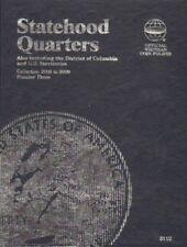 US State Quarters Mini Coin Album 2006 2009 Whitman Folder 8112 No 3 Free S&h