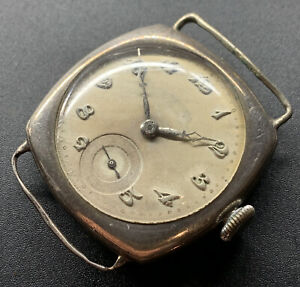 1931 Silver Longines Breguet NumeralsFixed Lugs Cal. 11.84N