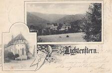 Ansichtskarte Baden Württemberg  Lichtenstern