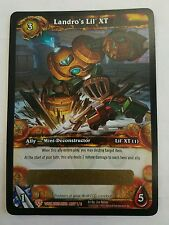 World of Warcraft Landro's Lil XT LOOT Unused T UNSCRATCHED robot Companion Pet