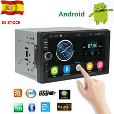 "7"" Autoradio estéreo Doble 2Din Android 6.0 MP5 Bluetooth FM GPS Pantalla táctil"