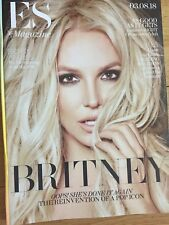 BRITNEY SPEARS ES MAGAZINE FRONT COVER+4Pg Article 3/8/2018-Lowest PriceOn Ebay
