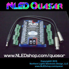 NLED Quasar LED Controller - 30 Channels, USB, DMX, Serial - 12 Volt LED Strip