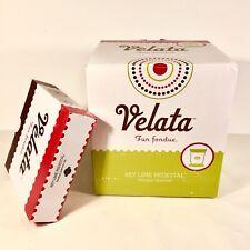 Scentsy Velata Fun Fondue - Key Lime Curve Electric Fondue Warmer New Open Box